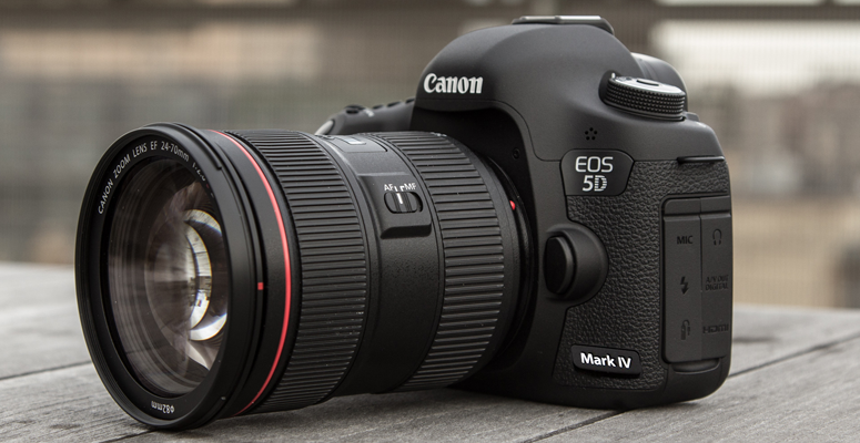 Canon EOS 5D Mark IV - Best Canon DSLR camera for professionals