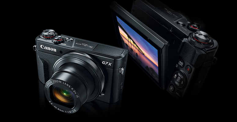 Canon - PowerShot G7 X Mark II - Best point and shoot camera under 1000