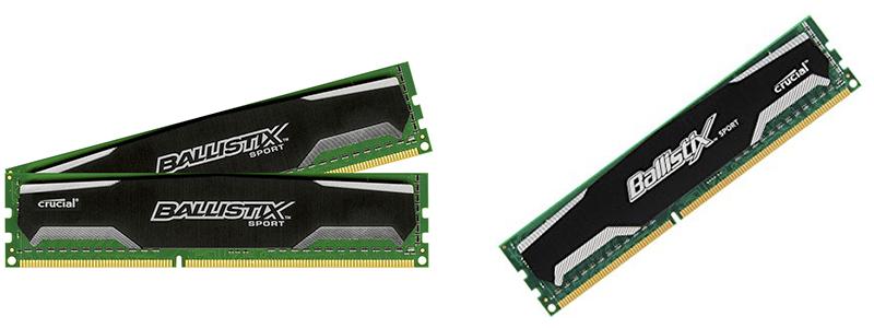 crucial ballistix sport ddr3 - A Basic Compact RAM for Slim Fitting