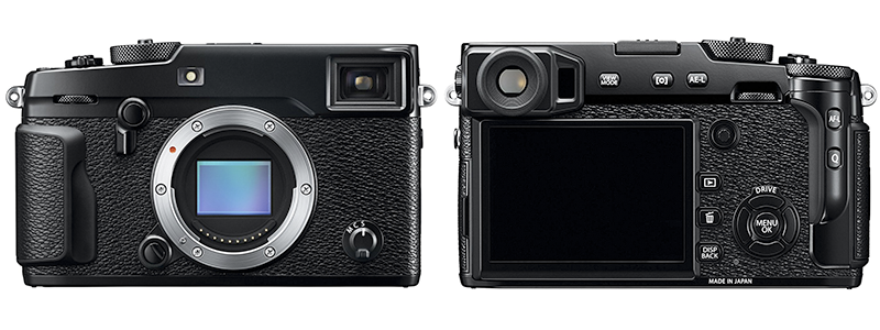 fujifilm x-series x-pro 2 - best mirrorless camera for professionals