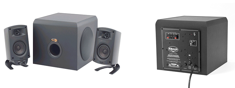 klipsch promedia 21 - Best computer speakers for powerful low-end sound