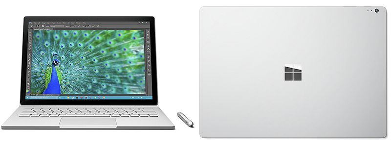 microsoft surface book - Best 2 in 1 Laptop Overall