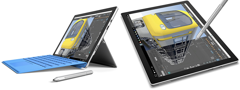 microsoft surface pro 4 - Lightest 2 in 1 Laptop