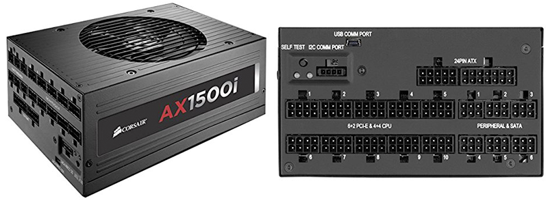 corsair ax1500i - Made to Withstand Highest Possible Temperatures