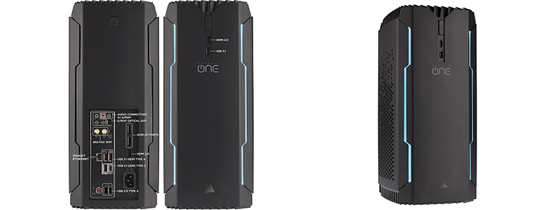 corsair one pro - A Compact Gaming PC with High-End Graphics and Storage