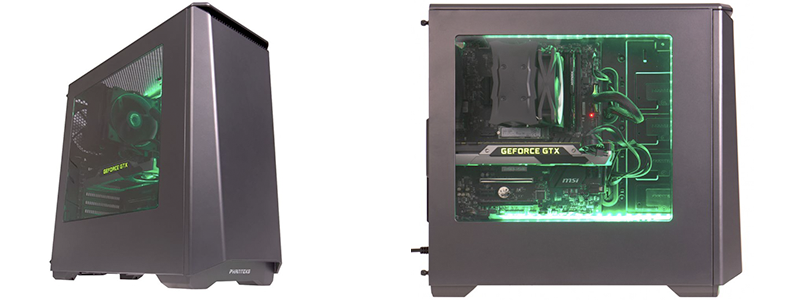 overclockers titan virtual force vr gaming - A VR-Focused Gaming Desktop