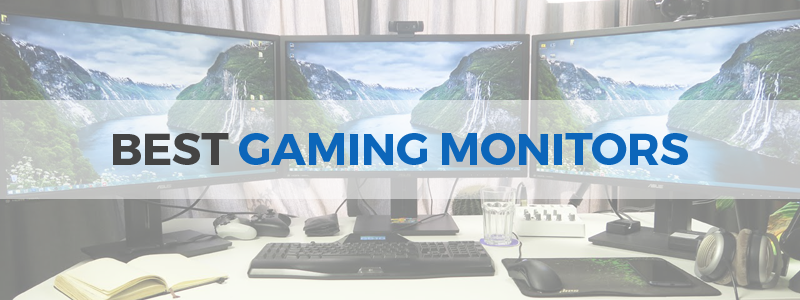 14 Best Gaming Monitors in 2019 - 144Hz, 240Hz, 4K, HDR