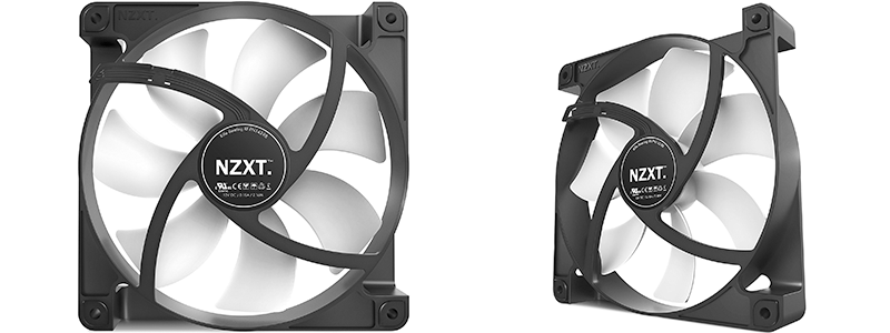 nzxt fn v2 140mm rf-fn142-rb - High Performance and Quiet Case Fan