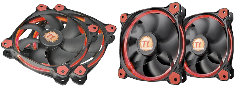 thermaltake riing 120mm - A Quality Quiet Case Fan