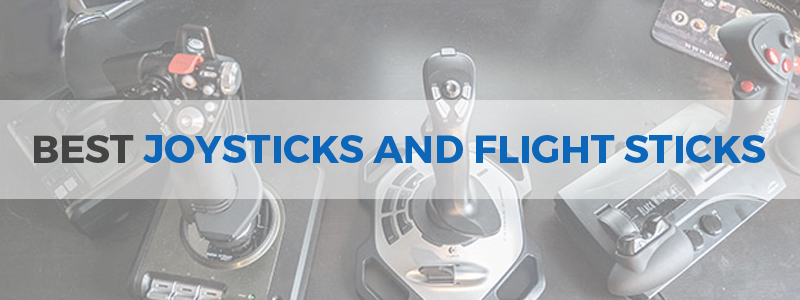 Best joysticks and flight sticks