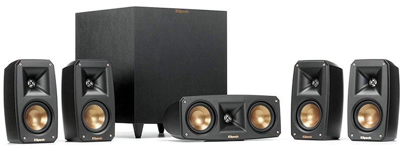 klipsch black reference theater pack
