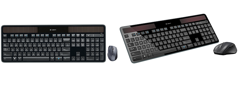 logitech mk750 wireless solar keyboard and wireless mouse