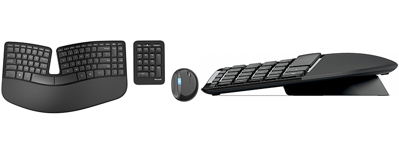 microsoft sculpt ergonomic wireless desktop keyboard and mouse