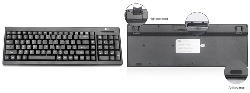 rii rk901 - The Best Budget Wireless Keyboard
