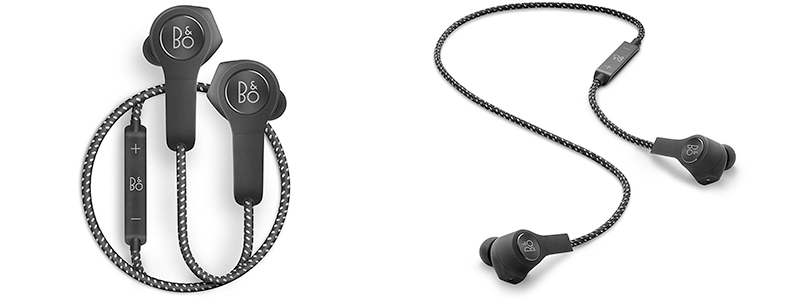 bang and olufsen earbuds. bang olufsen beoplay h5 and earbuds n