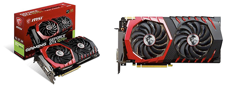 msi gaming geforce gtx 1070 ti