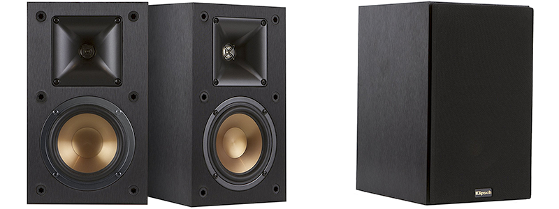 If Youre Looking For A Pair Of Supremely Dynamic Punchy Yet Compact Bookshelf Speakers The Klipsch R 14 Should Be Added To Your Shortlist
