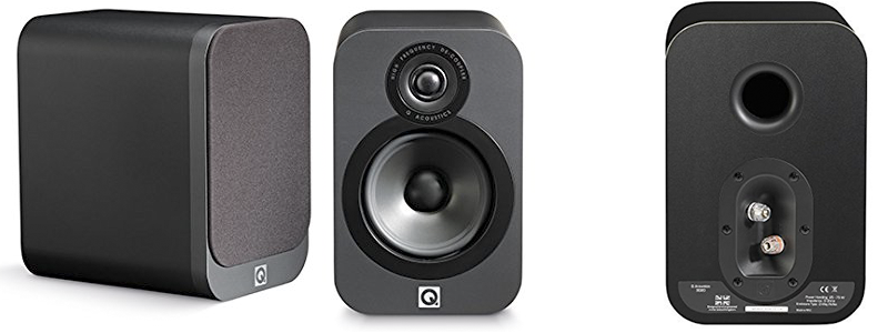 Mini Bookshelf Speakers Q Acoustics 3020