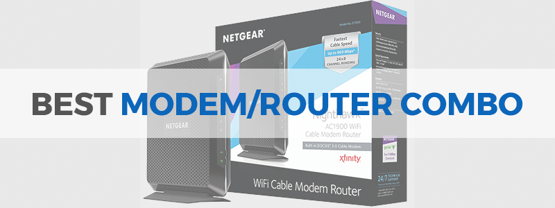 Best Modem For Xfinity 2020 8 Best Modem/Router Combos in 2019   Comcast, Xfinity, Cox   The