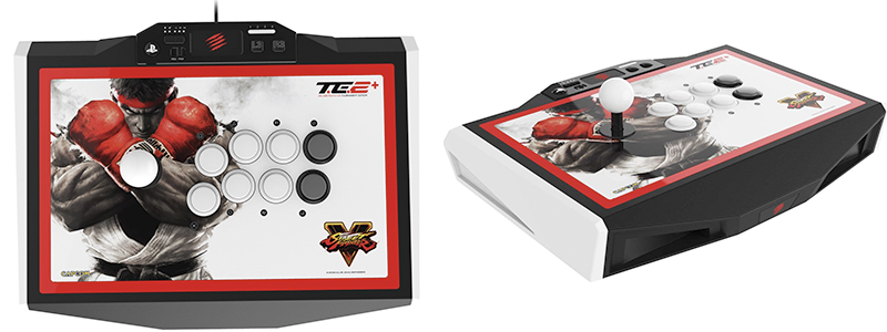 mad catz street fighter v arcade fightstick te2