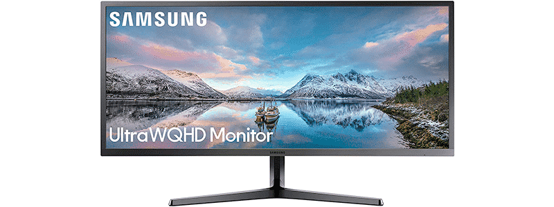 samsung 34-inch sj55w ultrawide gaming monitor