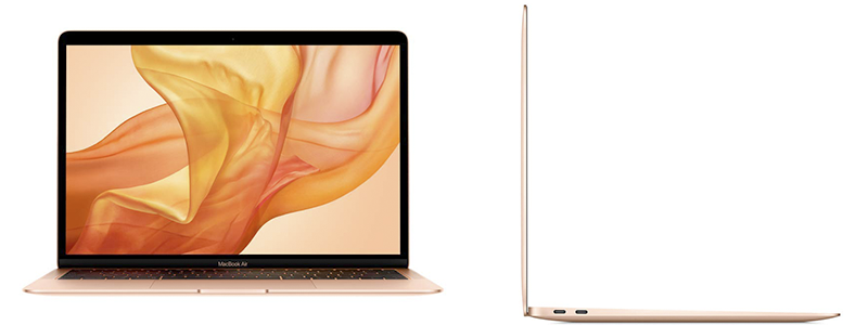 apple macbook air with 13-inch retina display