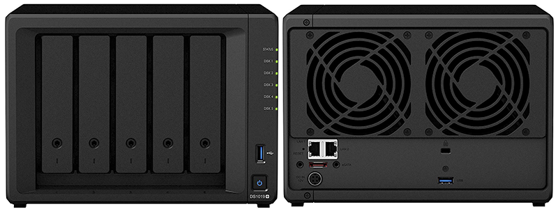 synology 5 bay nas diskstation ds1019
