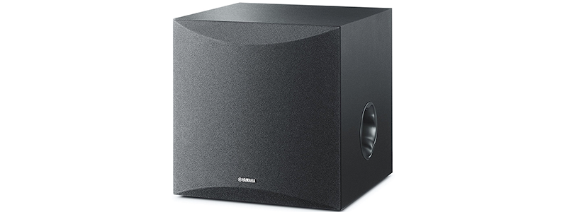yamaha 8 100w powered subwoofer ns-sw050bl