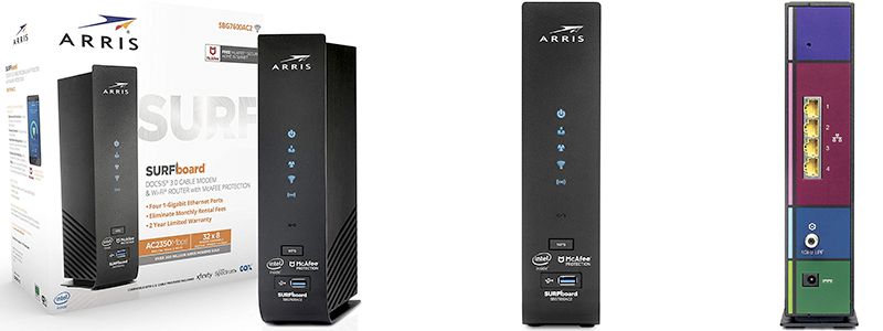 8 Best Modem Router Combos In 2019 Comcast Xfinity Cox