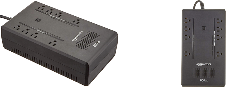 APC Smartups 1000 Battery Backup8 Battery Backup and Surge Protector Outlets