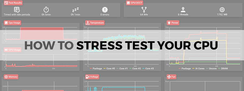 how to stress test cpu
