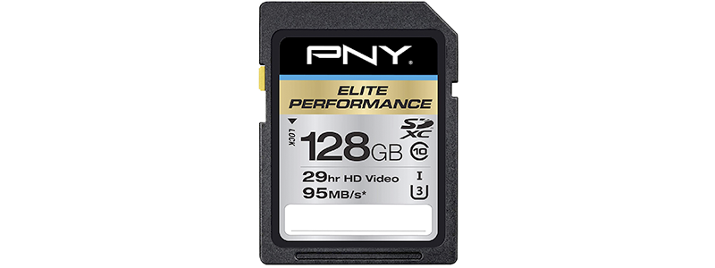 pny p-sdx128u395-ge elite performance