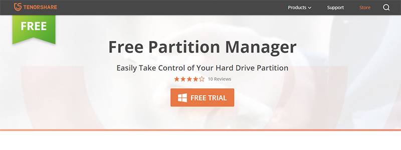 tenorshare partition manager