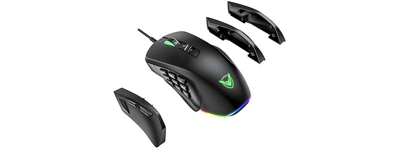 pictek mmo gaming mouse