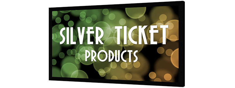 silver ticket products 4k projector screen