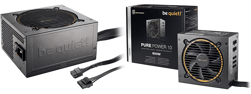 be quiet pure power gold 11 600w bn629