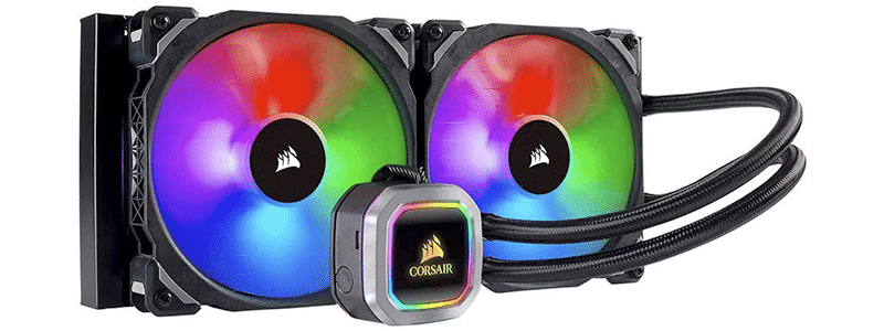corsair h115i rgb platinum aio liquid cpu cooler