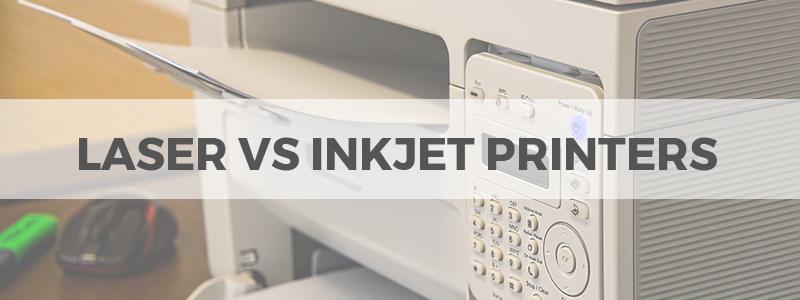 laser vs inkjet printers