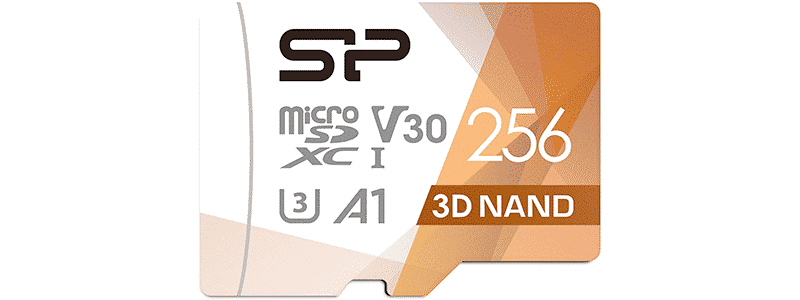 silicon power 3d nand superior pro microsdxc