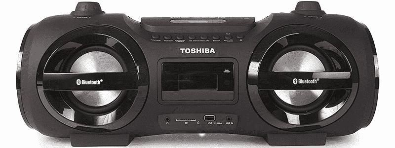 toshiba ty-cwu500 bluetooth boombox speaker