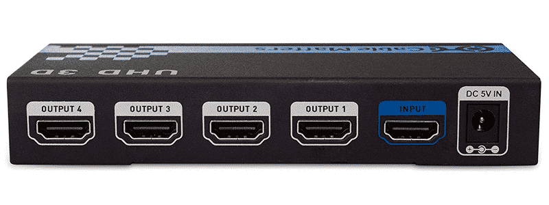 cable matters 4 port 4k hdmi splitter