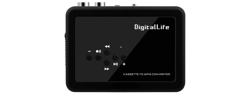 digitallife cassette player recorder