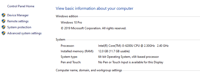 how to check your computer specs 13