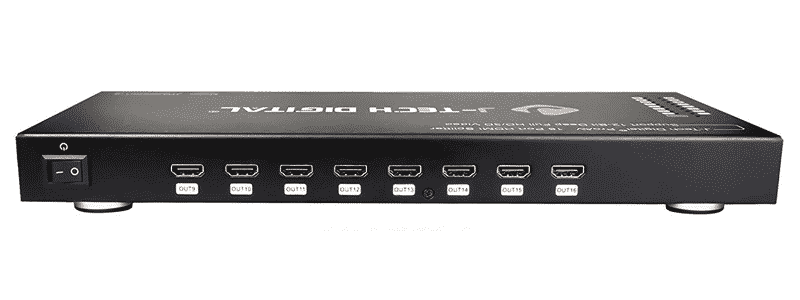 j-tech digital 1x16 hdmi 4k@30hz splitter