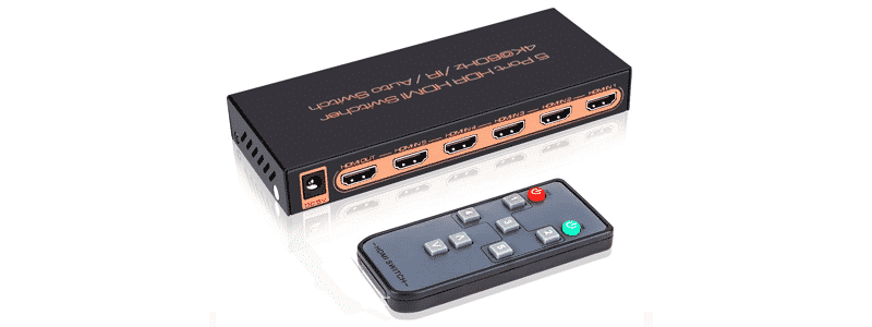 roofull rfh2s51 4k@60hz hdmi 2.0 switch 5x1