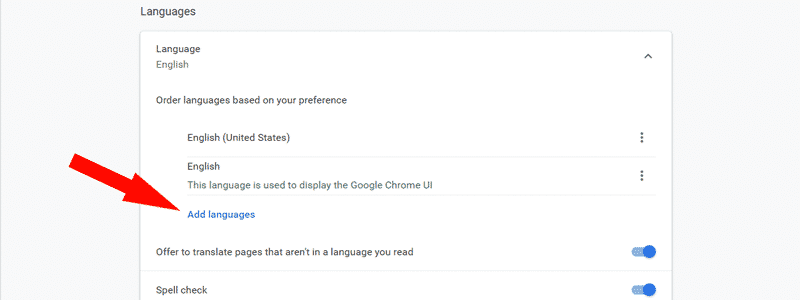 how to change language in chrome 06