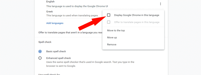 how to change language in chrome 09