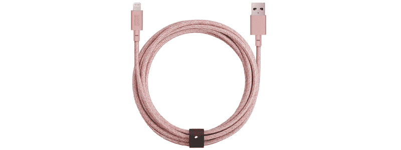 native union belt lightning to usb charging cable xl