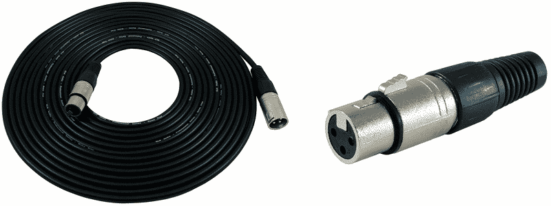 gls audio xlr to xlr cable