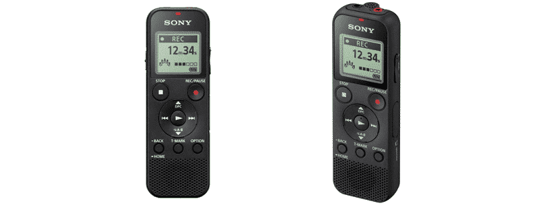 sony icd-px370 mono digital voice recorder